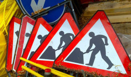 Stock Roadworks Image
